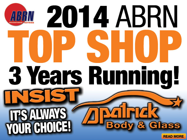 2014 Auto Body Repair News Top Shop D-Patrick 2014